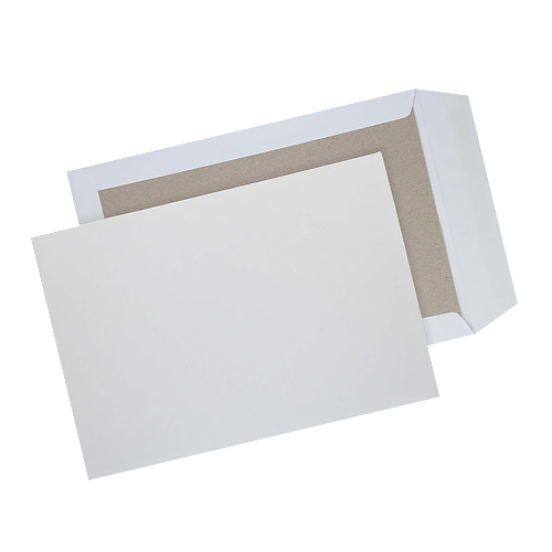 C4 A4 Strong White Board Backed Envelopes 324mm X 229mm